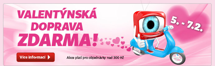 Valentýnská doprava zdarma