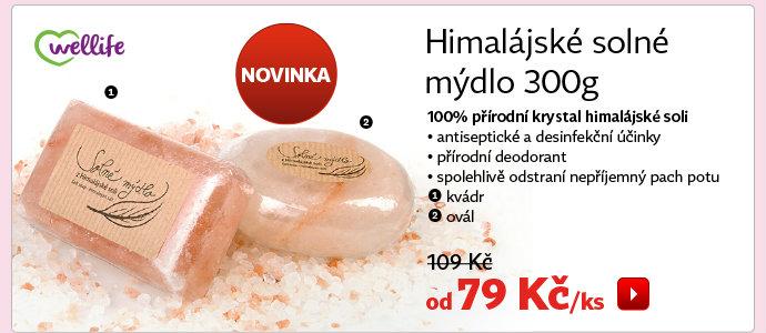 Himalájské solné mýdlo ovál 300 g