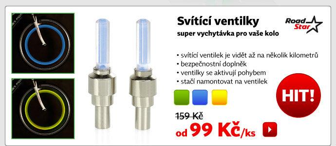 Svítící ventilky