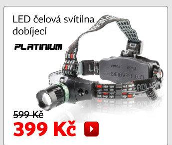 LED čelová svítilna LP-6531