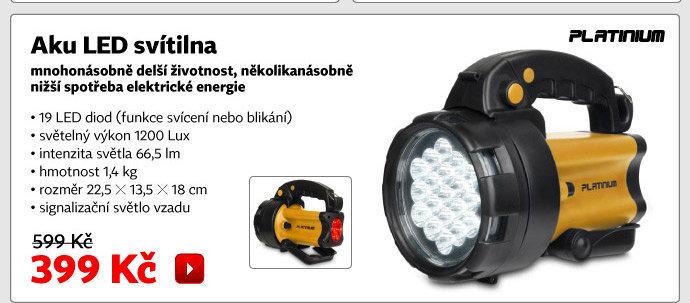 Aku LED svítilna LS19