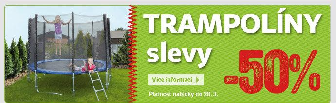 Slevy na trampolíny až 50%