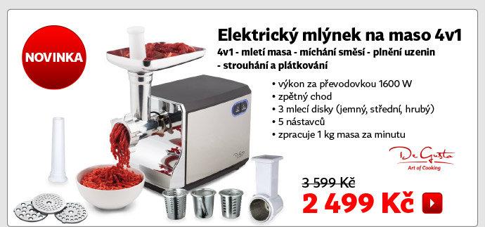Elektrický mlýnek na maso 4v1 AMG39