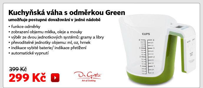 Kuchyňská váha s odměrkou Green EK6331