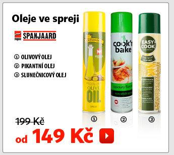 Olej ve spreji Spanjaard