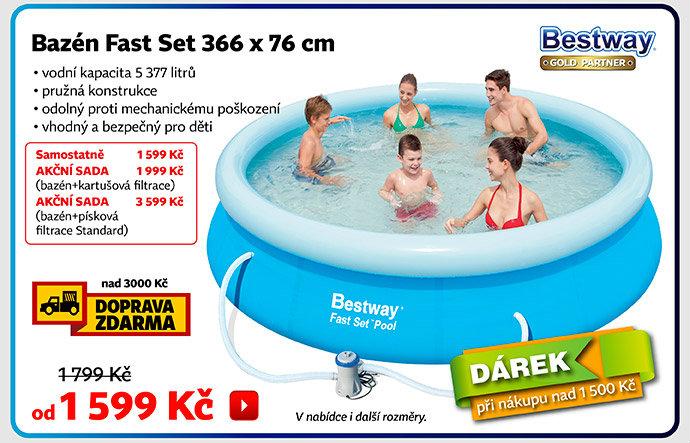 Bazén nafukovací Fast Set