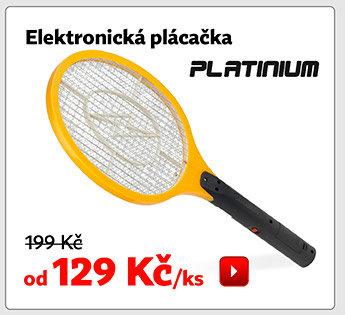 Elektronická plácačka Platinum