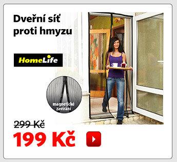 HomeLife dveřní síť proti hmyzu