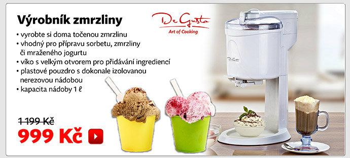 De Gusto výrobník zmrzliny