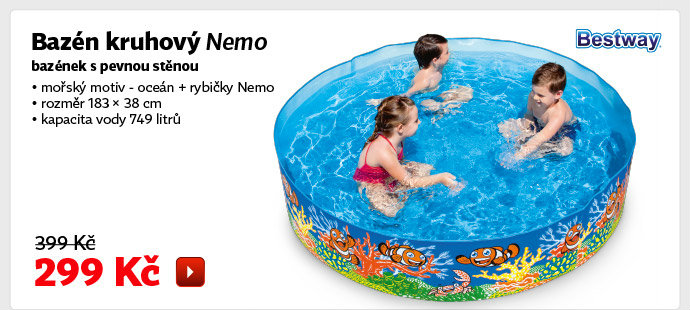 Bazén kruhový Bestway Nemo