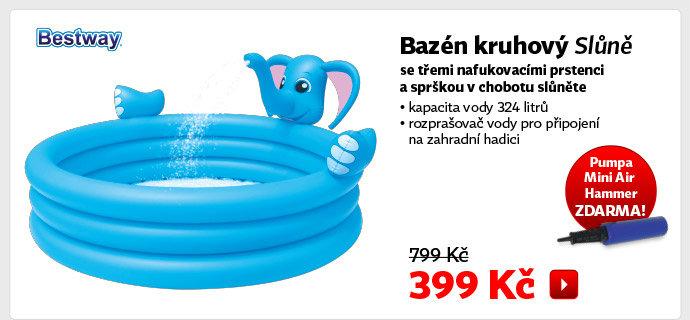 Bazén dětský Bestway Slůně
