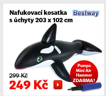 Nafukovací kosatka Bestway