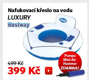Nafukovací křeslo na vodu Bestway Luxury