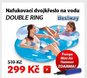 Nafukovací dvojkřeslo na vodu Bestway Double Ring