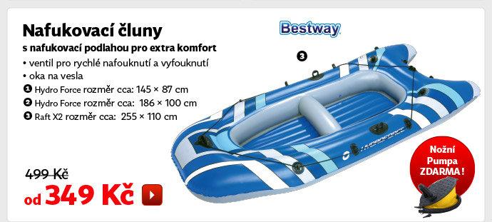 Nafukovací čluny Bestway