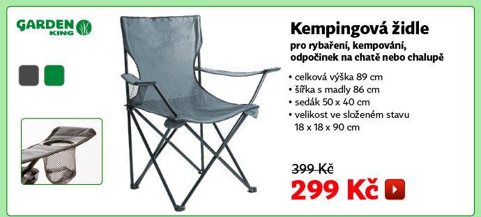 Kempingová židle Garden King