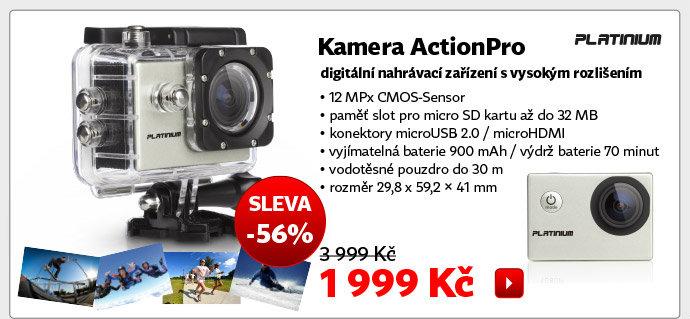 Kamera Platinum ActionPro