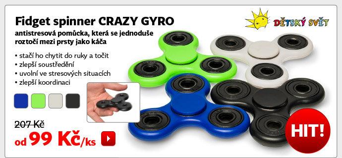 Fidget spinner Crazy Gyro