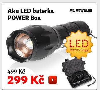 Aku LED baterka Platinum Power Box