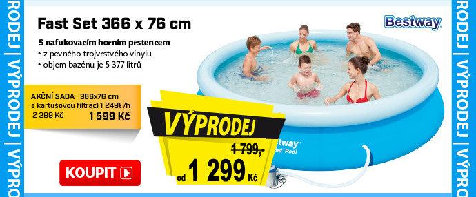 Nafukovací bazén Bestway Fast Set