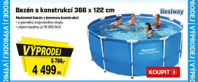 Bazén s konstrukcí Bestway