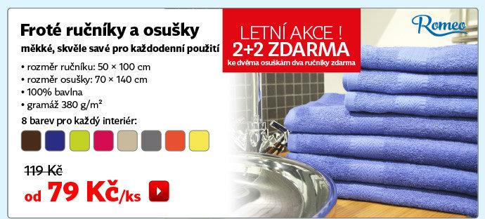 Froté ručníky a osušky