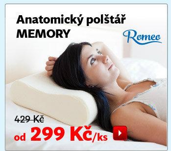 Anatomický polštář Romeo Memory