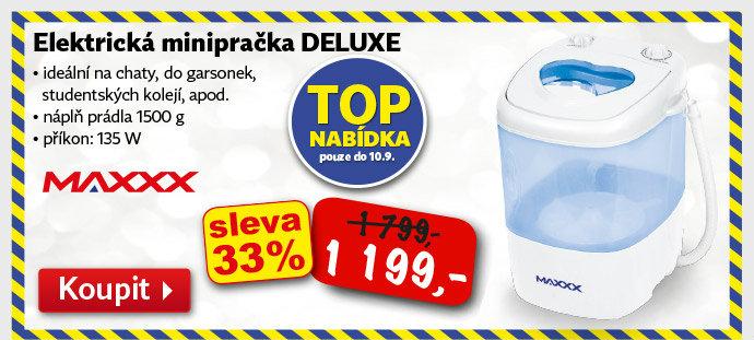 Elektrická minipračka Maxx Deluxe
