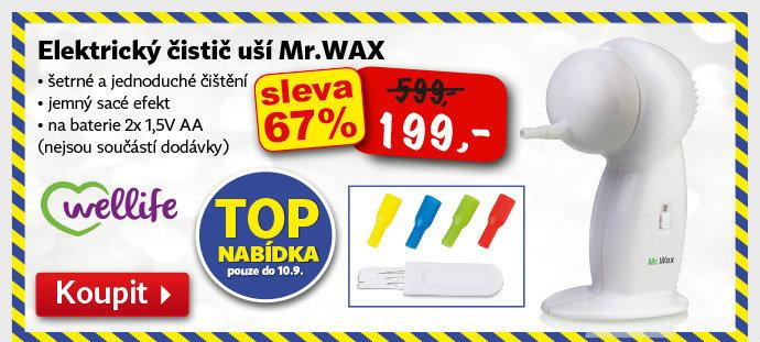 Elektrický čistič uší Wellife Mr.WAX